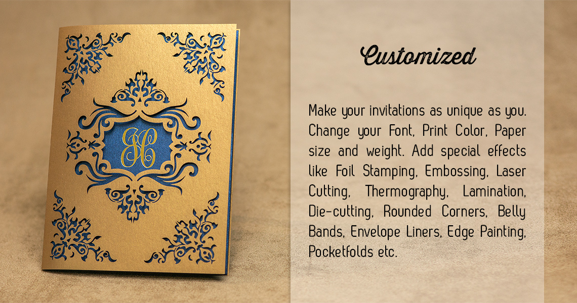 Custom Lasercut Wedding Invitation Manila Philippines